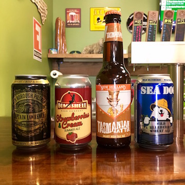 Captain Lawrence 6th Borough Pilsner Pilsner Czechs Strawberries Cream Summer Ale Fruit Beer New Holland Tasmanian Hatter Ipa American