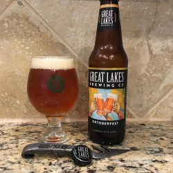 Great Lakes Oktoberfest in a The Hop Yard glass
