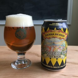 Sierra Nevada Oktoberfest in The Hop Yard Glass